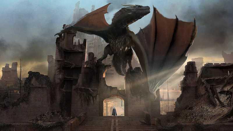 Star Wars Game of Thrones concept art Kieran Belshaw