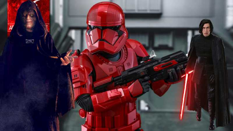 Star Wars Sith Troopers The Rise of Skywalker Rossi Ascesa Episodio IX(1)