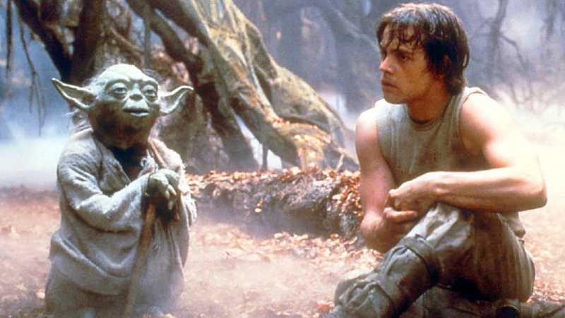 Star Wars Yoda Luke Dagobah favola racconto vuoi diventare uno jedi fiaba fratelli libro