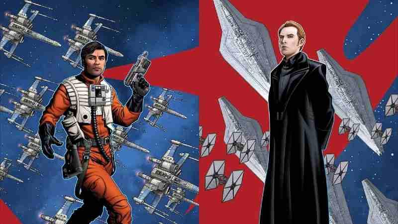 Star Wars Age of Resistance Poe Dameron Generale Hux(1)