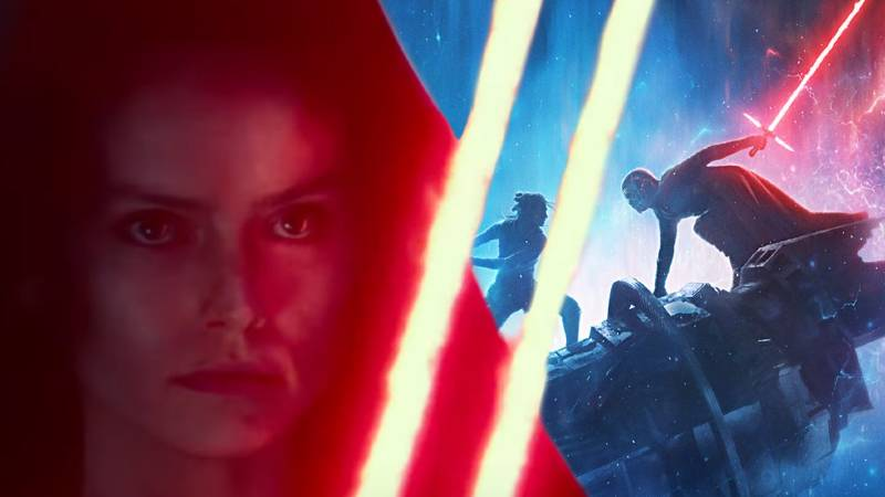 Star Wars Ascesa di Skywalker trailer Rey Lato Oscuro