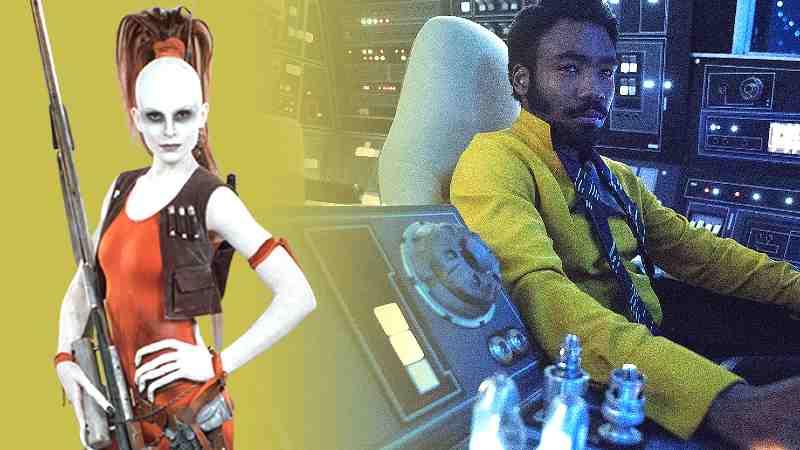 Star Wars Aurra Sing Lando Calrissian Solo