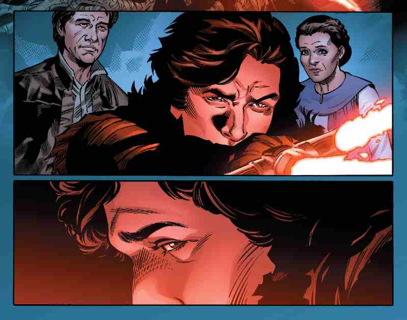 Star Wars Kylo Ren Leia Organa Han Solo