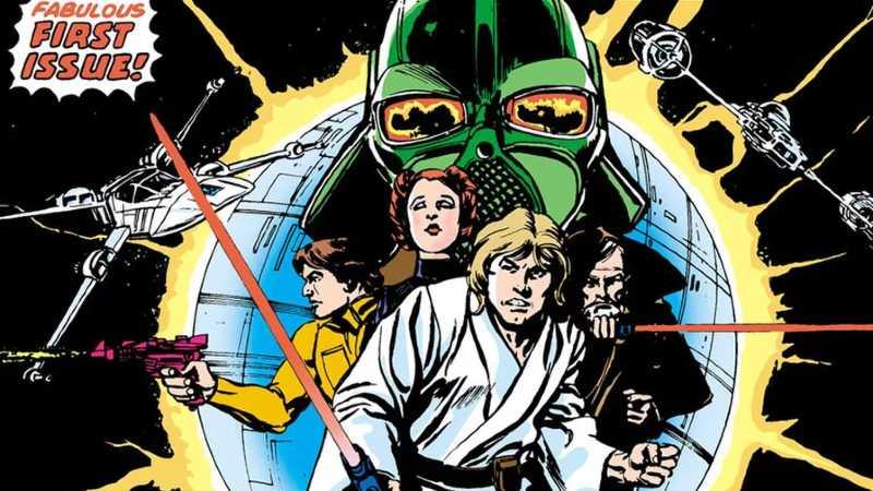 Star Wars 1 Facsimiled Edition Marvel Comics UFFICIALE ristampa 1977