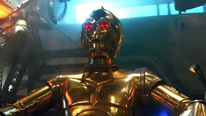 Star Wars C-3PO red eyes occhi rossi