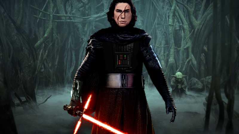 Star Wars Kylo Ren Dagobah