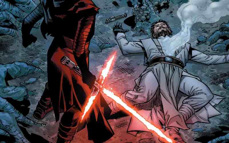 Star Wars Kylo Ren uccide Luke