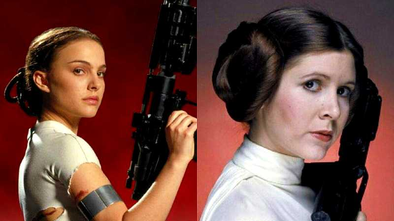 Star Wars Leia Organa Padme Amidala madre figlia volto fumetti marvel idw publishing