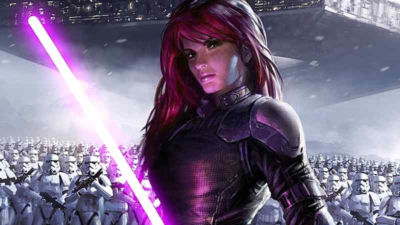 Star Wars Mara Jade Canone Galaxy Edge