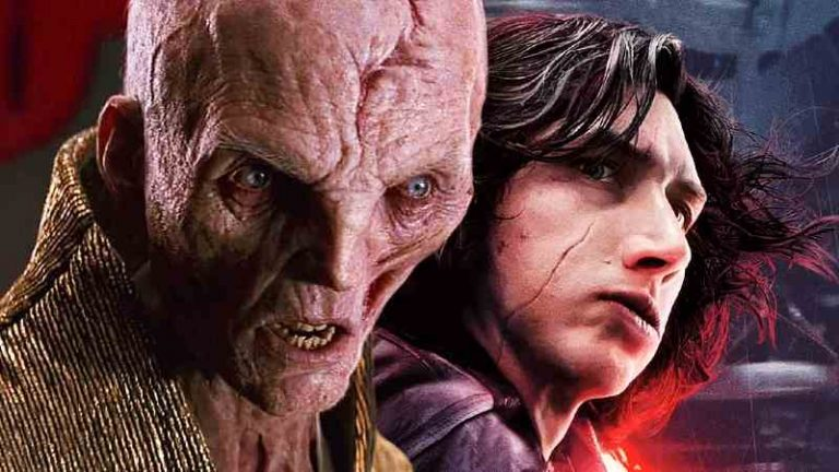 Star Wars Snoke The Rise of Kylo Ren Age of Resistance