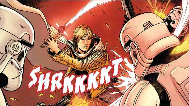 Star Wars 52 Annual 4 Luke Sith