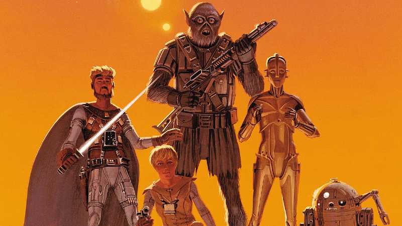 Star Wars Allegiance Rebels Chewbacca Lasat Wookiee Ralph McQuarrie Concept Art