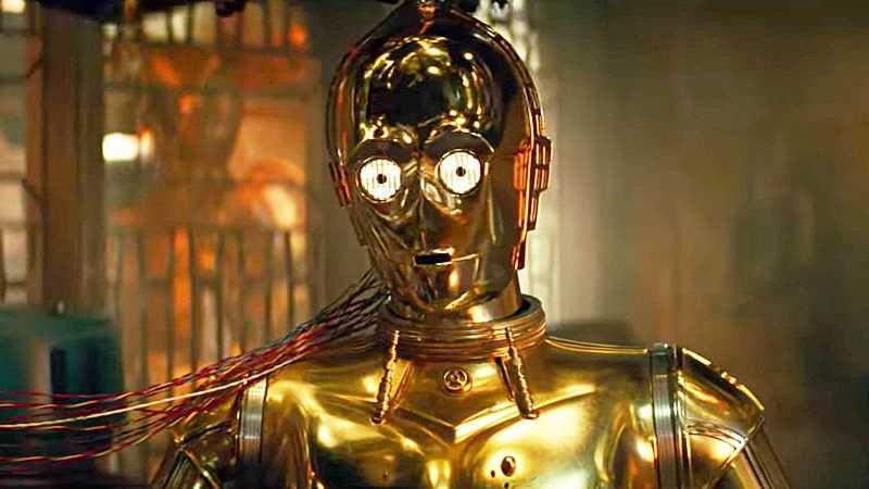 Star Wars C3PO FINAL TRAILER rise of skywalker
