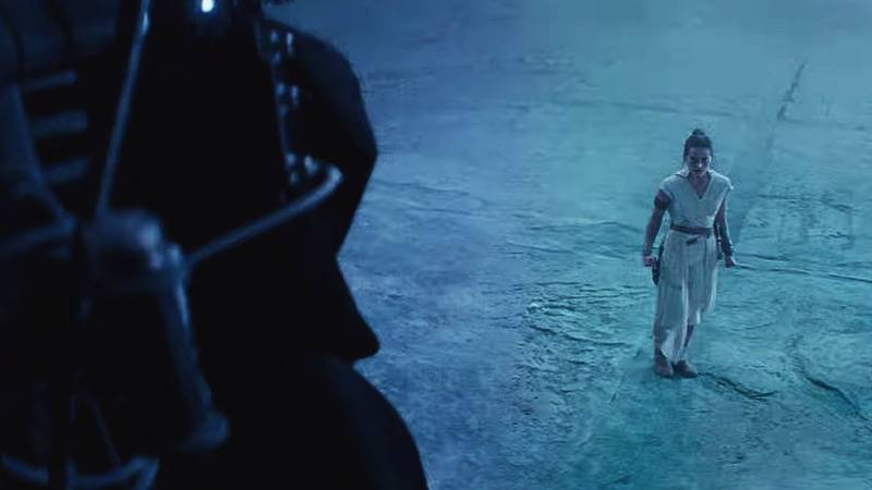 Star Wars Episodio IX Final Trailer Rey TRONO(1)
