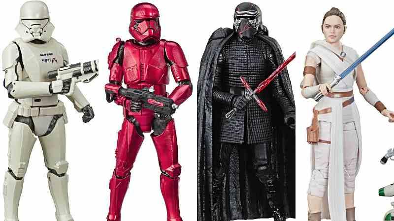 Star Wars Episodio IX Hasbro Rise of Skywalker Ascesa Skywalker action figures