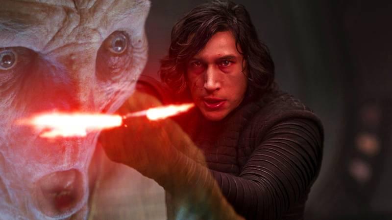Star Wars Kylo Ren Snoke Conflitto Tradimento