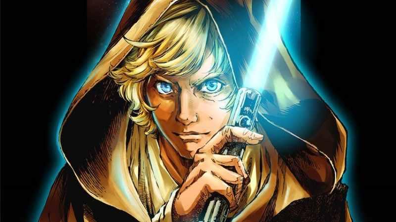 Star Wars Le Leggende di Luke Skywalker Manga Legends of Luke Skywalker