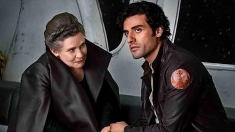 Star Wars Leia Organa Poe Dameron Ultimi Jedi Forza