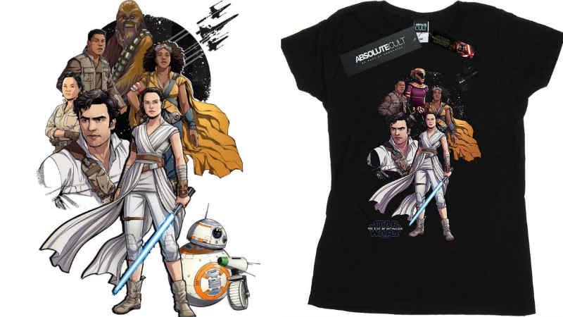 Star Wars Merchandise T-Shirt Rise of Skywalker Ascesa Episodio IX