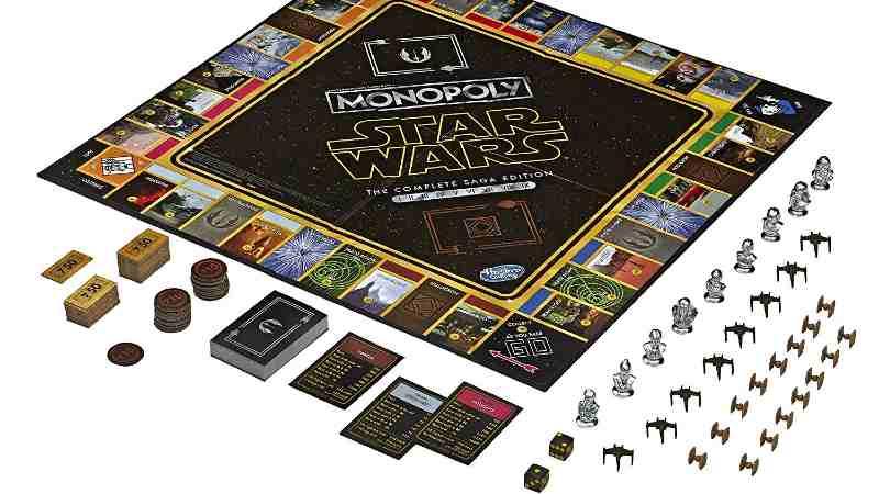 Star Wars Monopoly The Complete Saga Edition