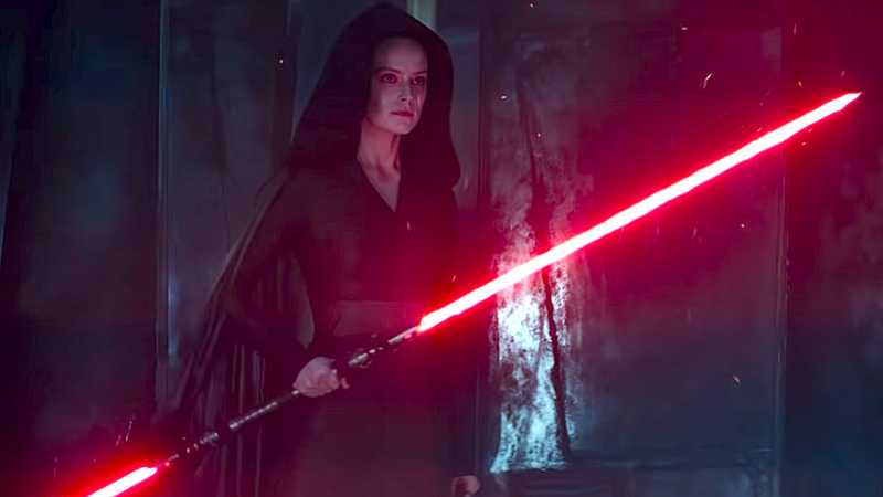 Star Wars Dark Rey Darth Rey Lato Oscuro