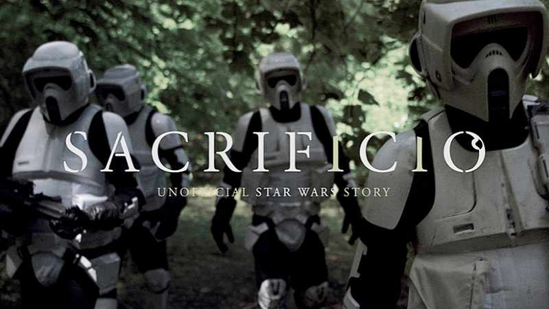 Star Wars Sacrificio Fan Film Trailer Streaming