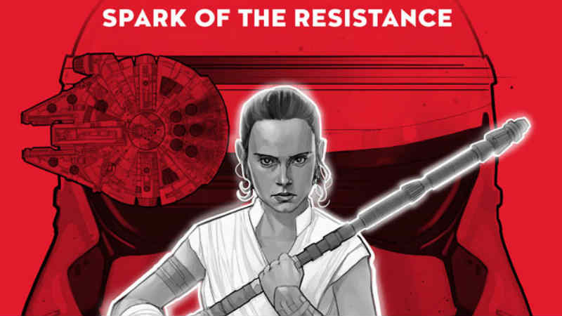 Star Wars Spark of the Resistance libro