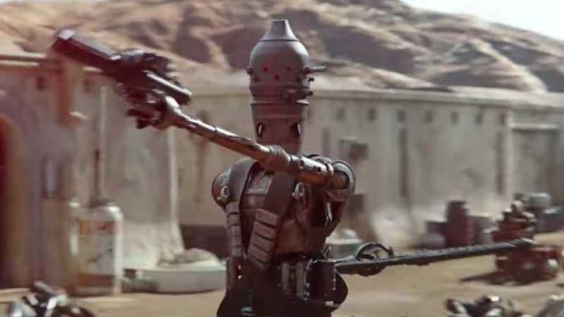 Star Wars The Mandalorian IG-11