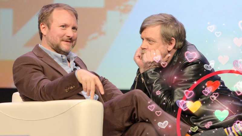 Mark Hamill Rian Johnson(1)