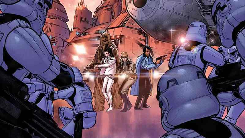 Star Wars 3 marvel comics fumetti 2020 ritorno a Cloud City