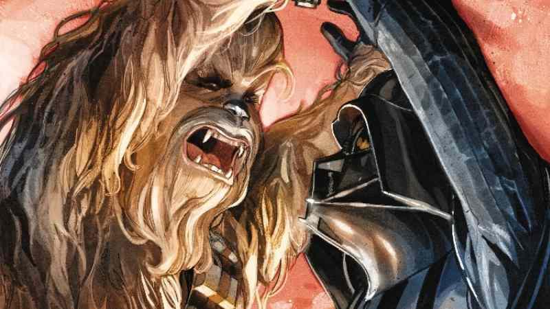 Star Wars 74 Chewbacca Darth Vader
