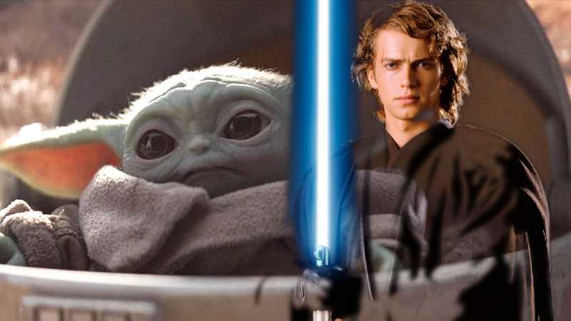 Star Wars Anakin Baby Yoda