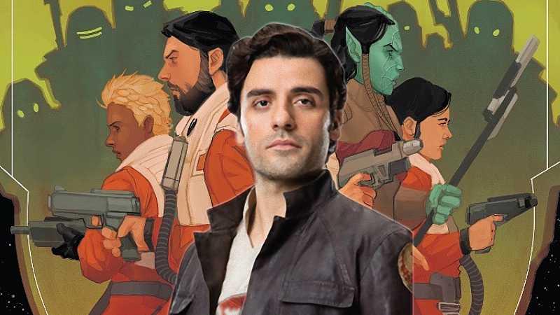 Star Wars Black Squadron Last Jedi Ultimi Poe Dameron fumetti Panini Comics
