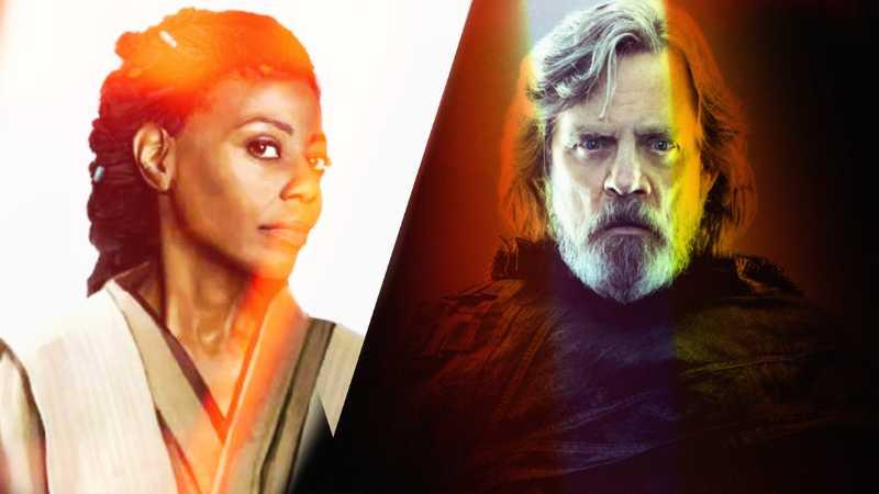 Star Wars Cere Junda Luke Skywalker Jedi Fallen Order Lato Oscuro