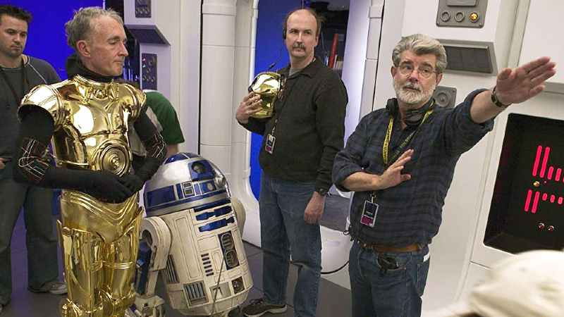 Star Wars George Lucas Anthony Daniels C-3PO Oscar