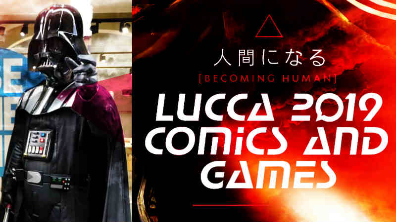 vStar Wars Lucca Comics Game 2019 News Fotografie Cosplayer