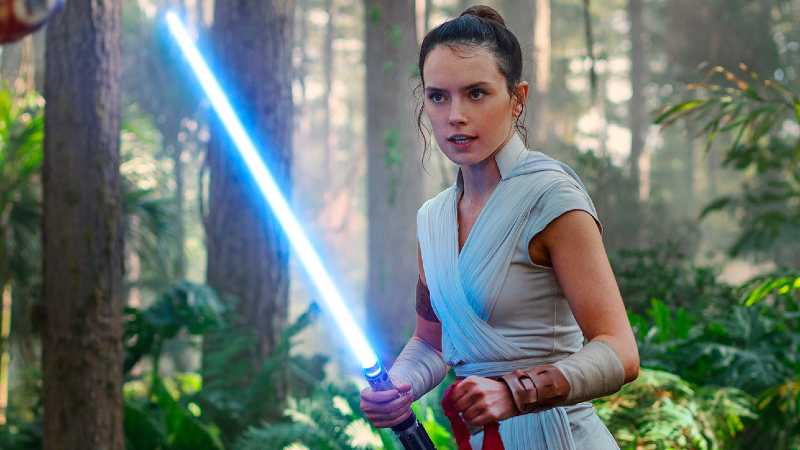 Star Wars Rey Ascesa Skywalker allenamento(1)