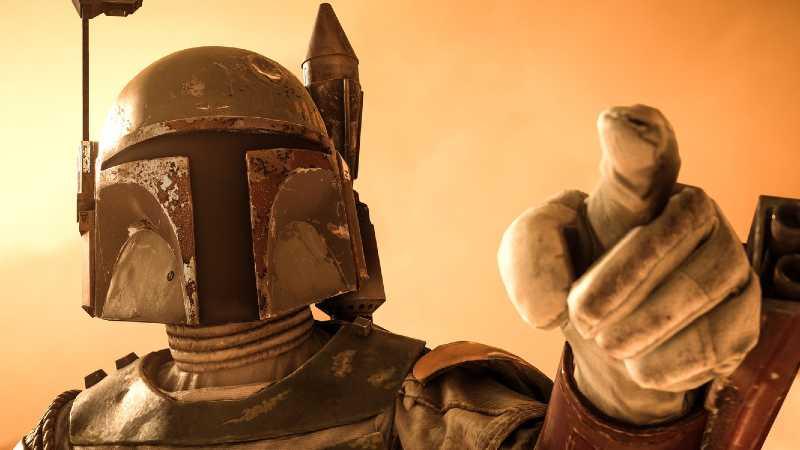 Star Wars The Mandalorian Boba Fett personaggio divisa