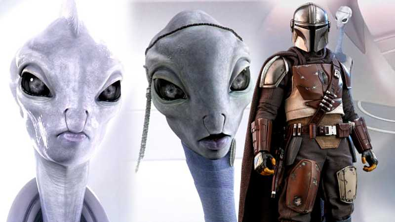 Star Wars The Mandalorian Kaminoani Clonazione