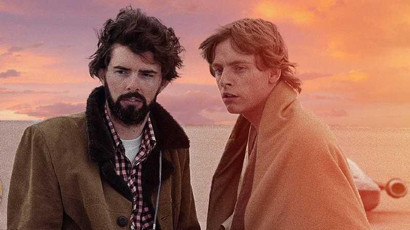 Star Wars Una Nuova Speranza George Lucas Luke Skywalker