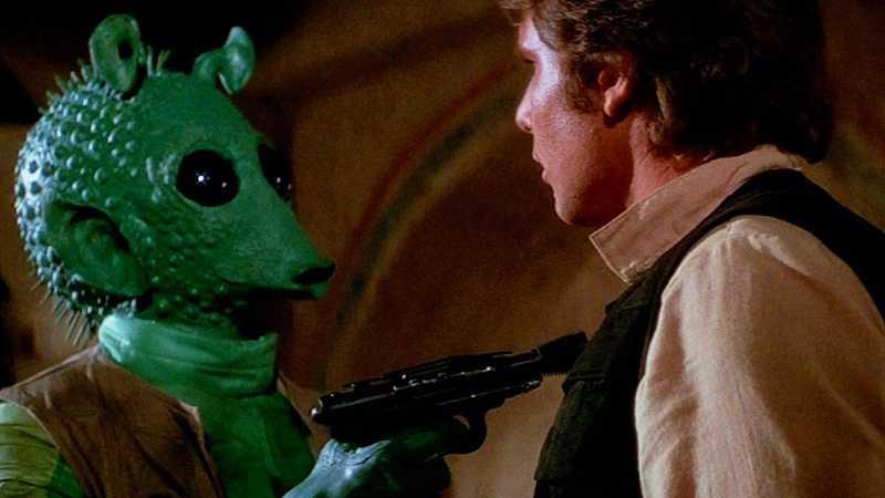 Star Wars Una Nuova Speranza modifiche Greedo Han Solo maclunkey Disney+ Episodio VI