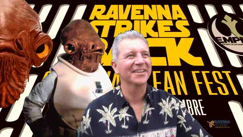 Tim Rose Star Wars Ammiraglio Ackbar Ravenna Strikes Back
