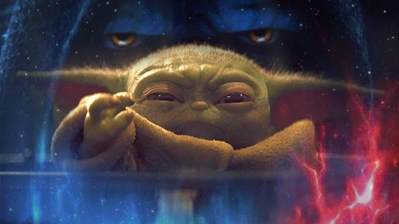 Star Wars Ascesa Skywalker Baby Yoda