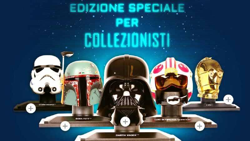 Star Wars Collezione Caschi De Agostini Guerre Stellari abbonamento