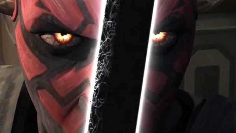 Star Wars Darksaber Darth Maul(1)