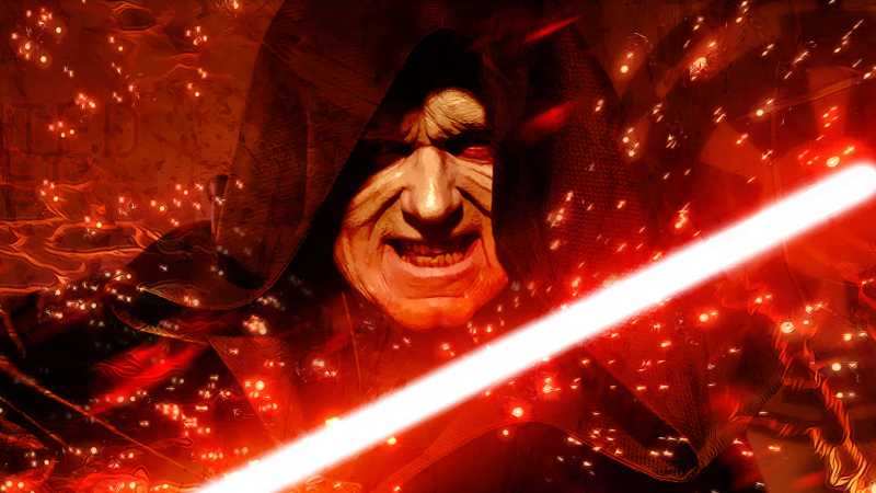 Star Wars Darth Sidious origini film genesi Palpatine Imperatore