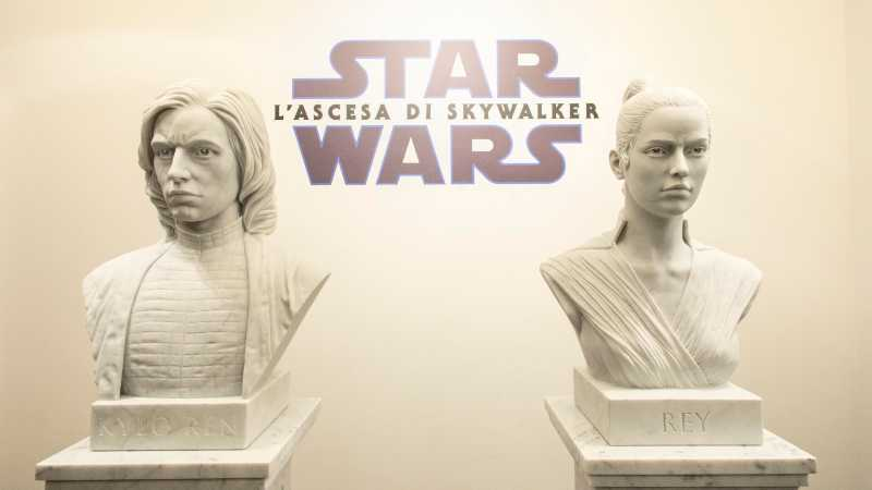 Star Wars Heroes Statue Marmo Roma