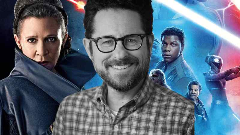 Star Wars J.J. Abrams Leia Organa Carrie Fisher Rise of Skywalker Ascesa di Episodio IX 9(1)