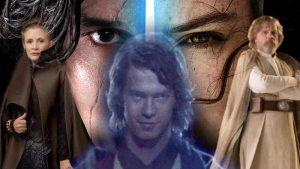 Star Wars Profezia Prescelto Ascesa di Skywalker Leia Anakin Luke Rey Ben Solo Kylo Ren Episodio IX