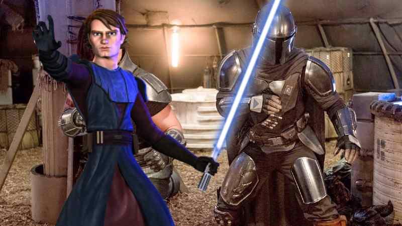 Star Wars The Mandalorian Anakin Skywalker